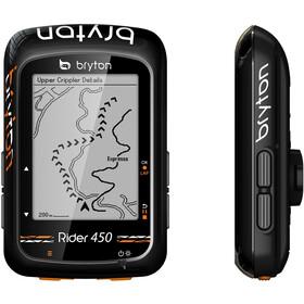Bryton Rider 450 H HRM Licznik rowerowy, black